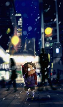 Alone in the City by RichiHart