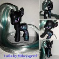 OOAK G4 My Little Pony Unicorn Custom Laila by MikeysGrrrl