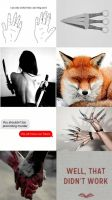 Red Fox- OC AESTHETIC Pt.2 by Enthaga