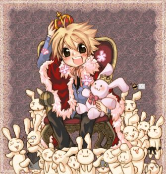 king of bunnies by limbebe