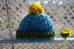 Sunny Day Crochet Hat by pinkythepink