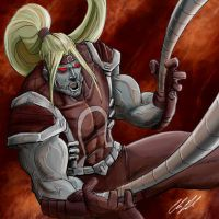 Omega Red by RiekeRipples
