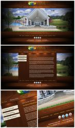 Woodhaven interactive flash website (Live) by Stephen-Coelho