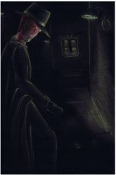 Man in Dark Alley by keira-bloom