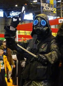 Vecter from Resident Evil Operation Raccoon City by CarrionPrince