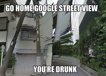 Go Home Google Street View, You're Drunk by PutinPot