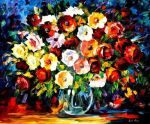 Flowers Of Love by Leonid Afremov