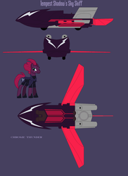 Tempest Shadow's Sky Skiff - Updated by lonewolf3878