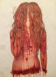 Carrie White by Kro-987