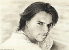 Tom Cruise by DannyLovesArt