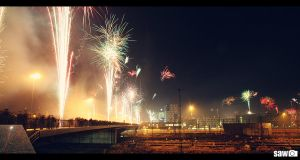 Fireworks for a colourful 2010 by flu0rgfx
