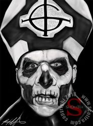 Papa II Ghost BC by ScOttRa Monster Art by ScOttRa