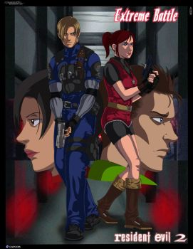Resident Evil 2: Extreme Battle by IITheDarkness94II