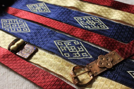 tablet woven belt of Philiph of Swabia by aislingde