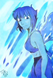 F:Art- Lapis by A-Fistful-Of-Kittens