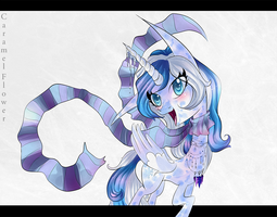 Blindful Snowflake by CaramelFlower