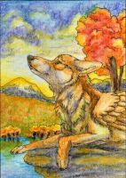 ACEO: Shien-Ra by SaQe