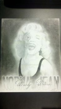 Decay of Norma Jean by 8chambers