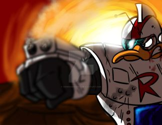 Gizmoduck by crimsondespot