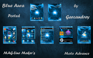 Blue Aura for Z6 by MAG-Line-Makers