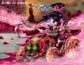 Twisted Princess: Vanellope by jeftoon01