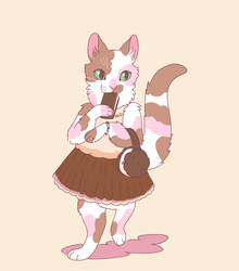 ice cream cat by Spoonfayse