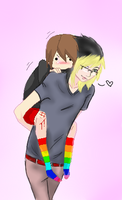 Piggy Back Collab by AbnormalZombie