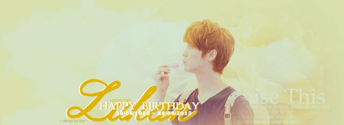 LuHan (EXO) ~ Happy Birthday To You by WooJiHee