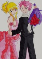 Lucy and Natsu Fairy Tail by Lucy-chan90