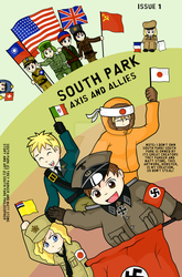 South Park Axis and Allies by SouthParkPhilosopher