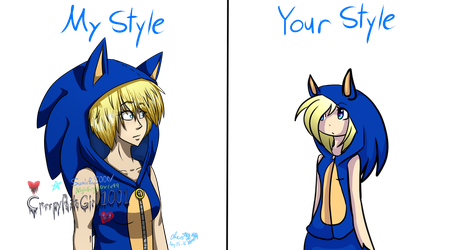 My Style Vs Your Style By Creepypastagirl1001 by Sweets1Anastasia