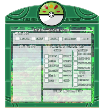 [PokemonTownship] Roleplay Tracker Meme by PTS-Admin