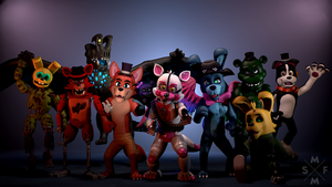 SFM Poster: FOUR THOUSAND SUBSCRIBERS! [2160p] by MinifigJoeSFM