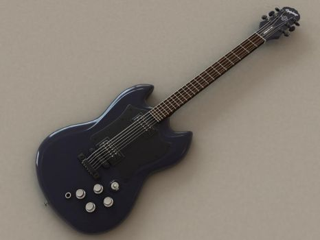 Epiphone Gothic SG without AMP by AndyBuck