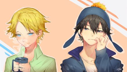 Tweak and Craig [Southpark] by NaseCafe
