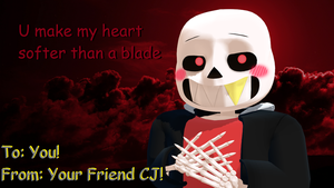 Valentines Day Card #12 (Cherry) by cjc728