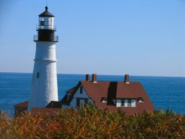 Portland Head Light, Maine by sataikasia