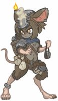 MonsterGirl_006 Kobold Slinger by MuHut