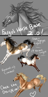 Fargo's Horse Base 2.0 by Fargonon