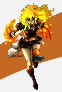 Yang Xiao Long by MrtViolet