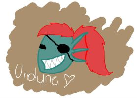 Undyne by TropicaIDeer
