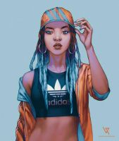 Adidas by loveart46