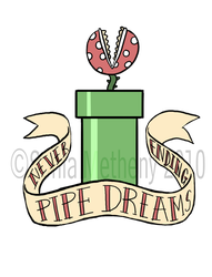 Never-ending Pipe Dreams by ThinRedThread