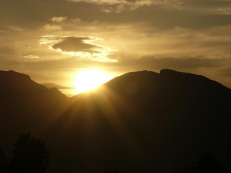 Sunrise over H.Holland mount. by Nobody-In-Particular