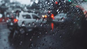 Car Window Droplets by ambdesignsph
