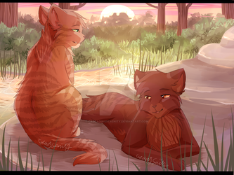 Brothers by CascadingSerenity