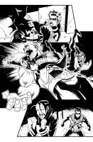 Teen Titans issue 12 page 14 by Azulmelocoton