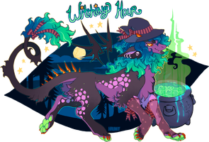 .:Witching Hour Halloween Auction:. Closed by Hauket