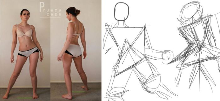Character Design: BUILDING THE FIGURE by ashestome