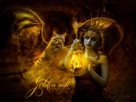 Golden Night Fantasy by VeilaKs